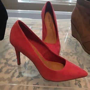 Hot pink heels